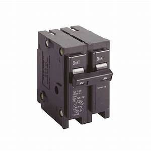 Eaton Cl 20 Amp 2-pole Circuit Breaker-cl220