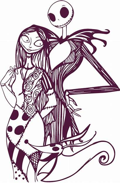 Sally Jack Nightmare Drawing Before Christmas Clipart