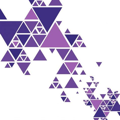 beautiful colorful triangle background vector  vector