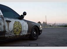 Wrap unit Police Car Style Rust Wrap Skepple Inc