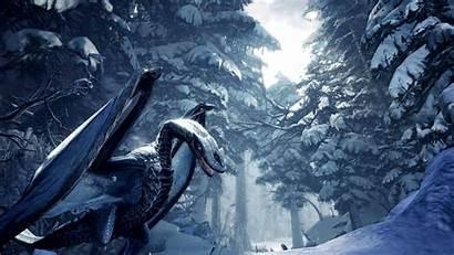 Hunter Monster Iceborne Wallpapers Zinogre Desktop Bekommt