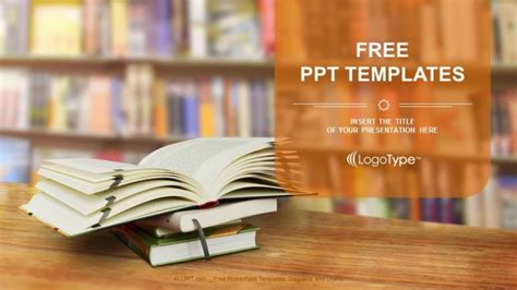 opened book powerpoint templates