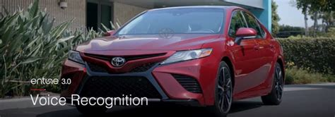 voice recognition   toyota entune  system