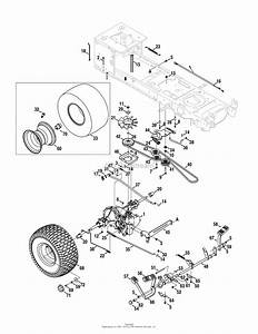 Old Cub Cadet Rear End Diagram On A Wire