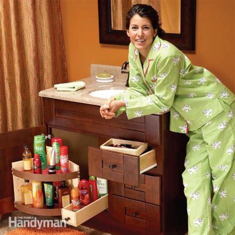 bathroom vanity storage ideas bathroom vanity storage upgrades the family handyman