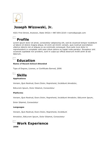 Copy Of Resume by Copy Of Circles Resume