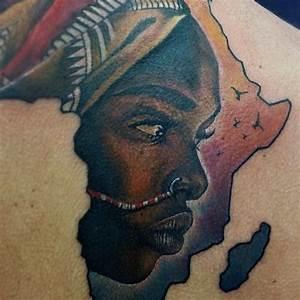 25+ best ideas about Africa tattoos on Pinterest   African ...