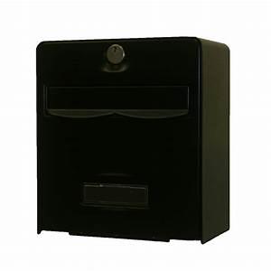 Passe Boite Aux Lettres : bo te aux lettres mini balthazar coloris noir balsa ~ Dailycaller-alerts.com Idées de Décoration