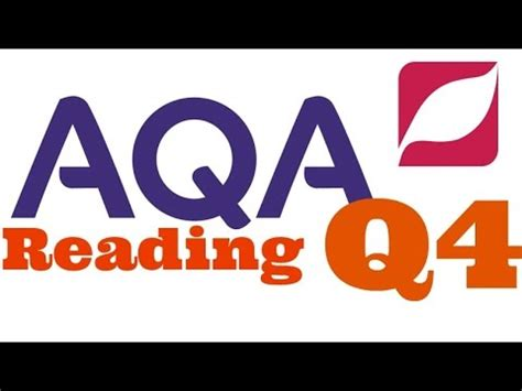 New Aqa English Language 8700 Paper 1 Question 4 With