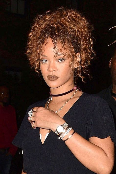 how to style thick curly hair 25 best ideas about rihanna curly hair on 1257