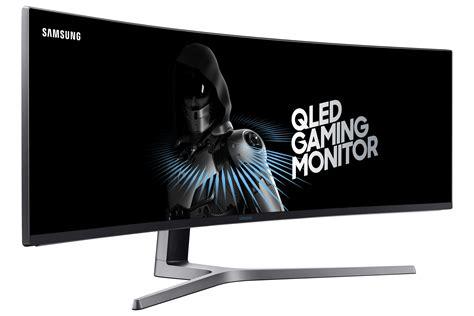 wallpaper samsung chg qled gaming monitor