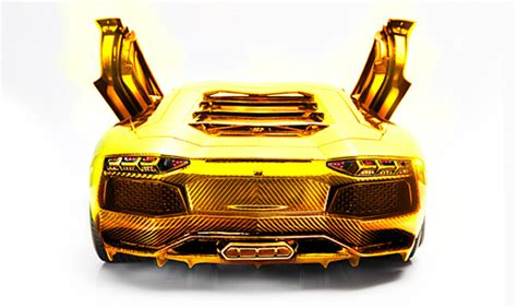 .5 Million Solid Gold Lamborghini