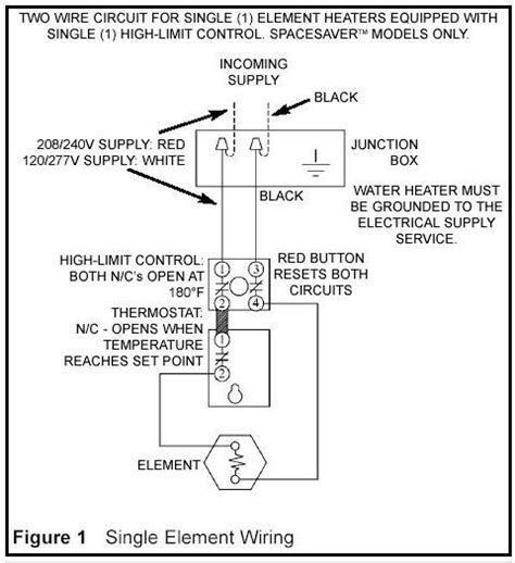 water heater wiring 120v 0r 240v