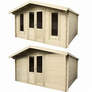 Gartenhaus Zu Verkaufen : gartenhaus blockhaus ger tehaus schuppen holzhaus 400 x 300 cm oder 400 x 400 cm ebay ~ Markanthonyermac.com Haus und Dekorationen
