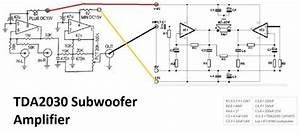 Tda2030 Make For Subwoofer Amplifier Circuit In 2019