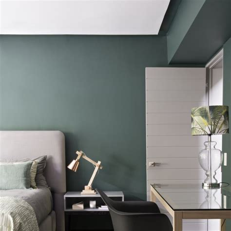 chambre verte et blanche chambre verte maison