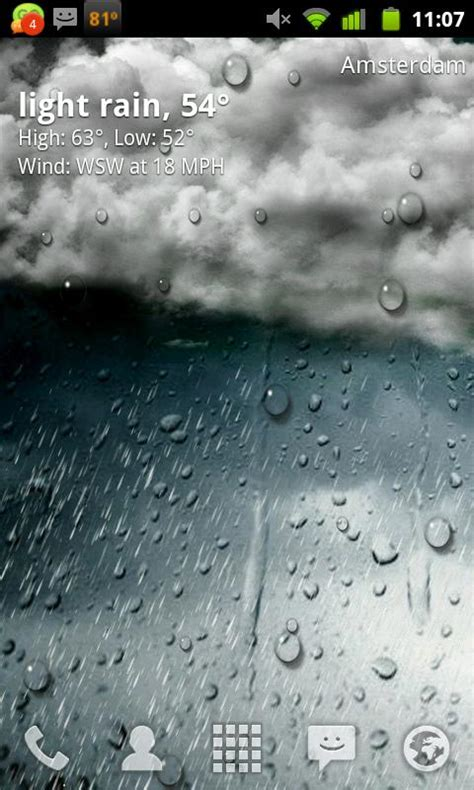 Free Animated Weather Wallpaper For Android - animated weather wallpaper for android wallpapersafari