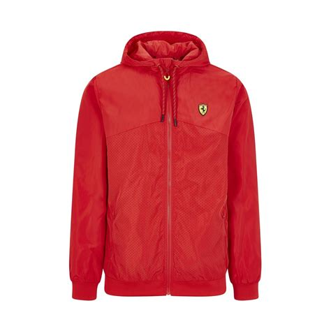Vintage ferrari f1 michael schumacher team jacket with embroidered signature s/m. 2020 Ferrari Italy F1 Mens Windbreaker Jacket Red | Clothing \ Wind Jackets Shop by Team ...