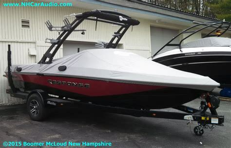 Boat Store Hudson Nh by 2015 Malibu Response Boat Boomer Nashua Mobile Electronics
