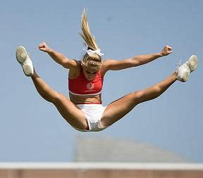 toe touch  basket toss