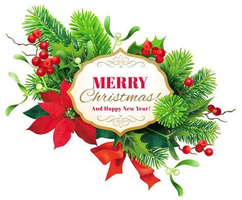 merry clipart merry decor png clipart image gallery