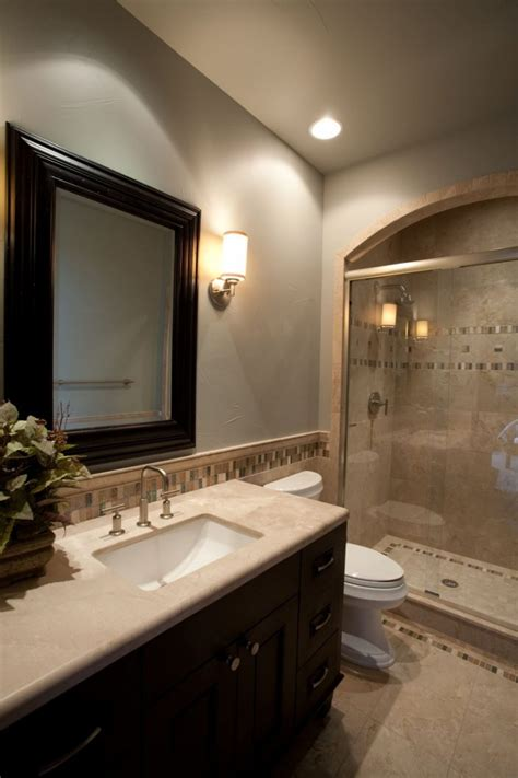 modern guest bathroom ideas fabulous ideas of guest master bathroom remodel for