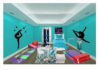 Gymnastics Bedroom Rooms Decor Bedrooms Equipment Stuff