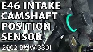 Bmw E46 Intake Camshaft Position Sensor Replacement P03