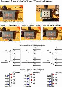 Telecaster 3 Way  U201calpha U201d Switch Schematics  U2013 Virizruggsite