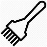 Hair Brush Icon Salon Dye Tinting Icons