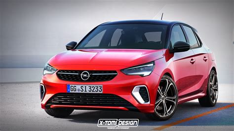 opel corsa 2020 rendering all new opel corsa gets dressed in gsi suit tries on an