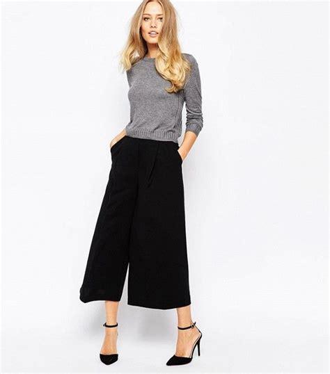 Wide leg cropped pants - Pi Pants