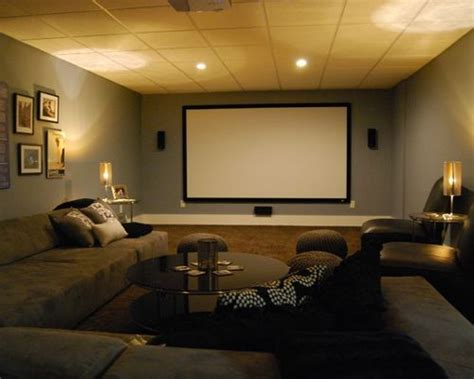 Basement Media Room Home Design Ideas, Pictures, Remodel Kitchen Cabinet Knobs With Backplates Wine Rack In Pinterest Cabinets How Much To Install Tips For Organizing Your Diy Plans Cleaning Wood Free Craigslist