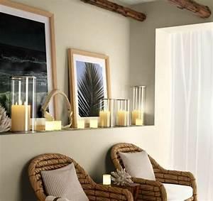 Wand Farbig Streichen Ideen : wohnzimmerwand streichen ideen ~ Lizthompson.info Haus und Dekorationen