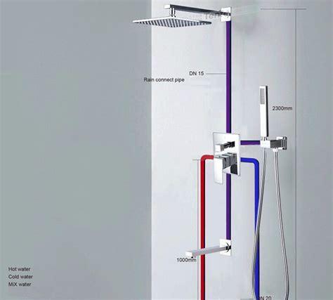 wall mount bathroom sink faucet installation fontana 3 outlets mixer valve solid brass