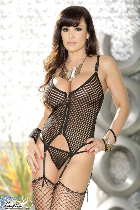 Lisa Ann Black Fishnet Curves Foxhq