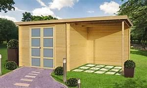 Abri De Jardin Toit Plat 10m2 : abri jardin bois 5m2 pas cher l 39 habis ~ Nature-et-papiers.com Idées de Décoration
