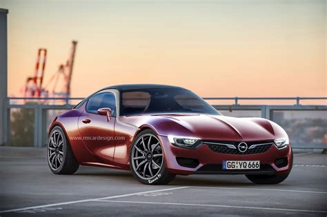 Gm Opel Gt by Production Opel Gt Rendered Gm Authority