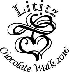lititz chocolate walk    complete list