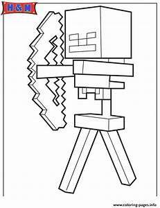 Minecraft Zombie Coloring Page Coloring Home