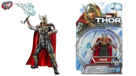 thor the dark world lightning bolt hammer figure toy