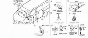 Nissan Nv200 Keyless Entry Transmitter  Body  Inst  Engine