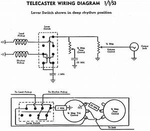 Who Can Draw Me A Tele Schematic  Not Wiring Diagram