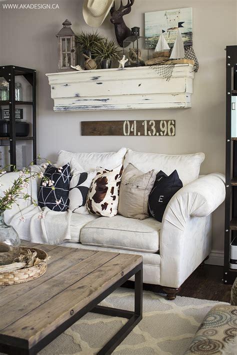 rustic farmhouse living room decor ideas   home