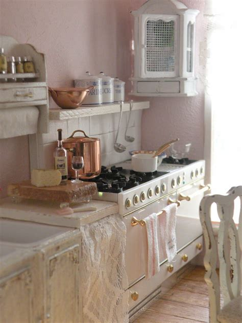 cuisine shabby chic decoration cuisine retro