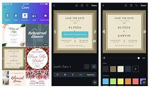 6 digital wedding invitation apps to save money and time With wedding invitation maker canva
