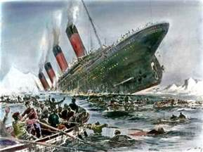 A Real Picture Of The Titanic Sinking by 100th Anniversary Of The Sinking Of Titanic Powerpoint