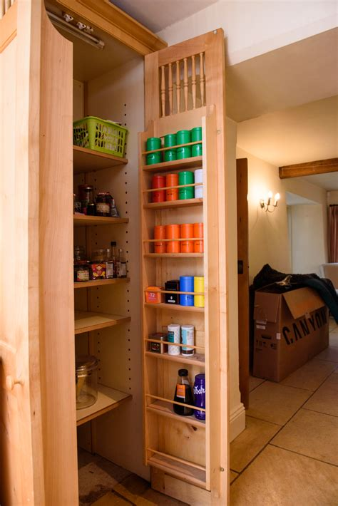 Kitchen Pantry Used by Traditional Bespoke In Frame Maple Used Kitchen Pantry