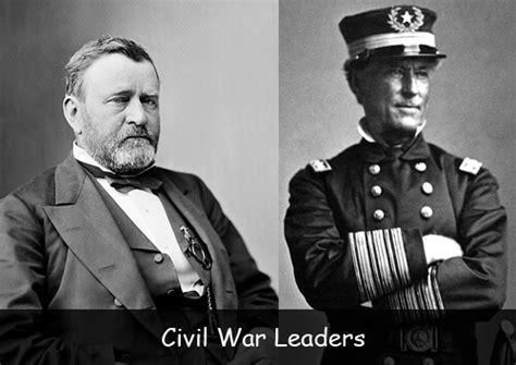 facts  civil war leaders american history  kids