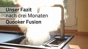 Wasserhahn Kochendes Wasser Preis : fazit drei monate mit dem kochend wasserhahn quooker fusion youtube ~ Frokenaadalensverden.com Haus und Dekorationen